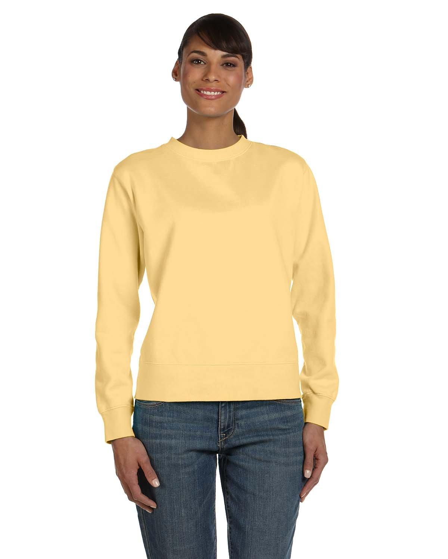 Comfort Colors Ladies' Crewneck Sweatshirt BUTTER