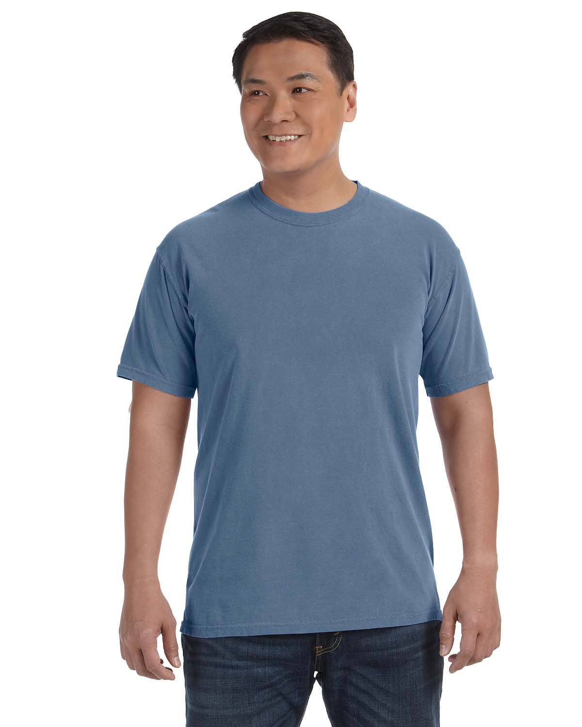 Comfort Colors Adult Heavyweight RS T-Shirt BLUE JEAN