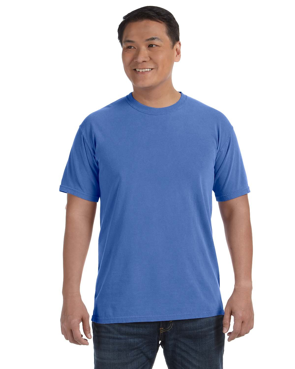 Comfort Colors Adult Heavyweight RS T-Shirt NEON BLUE