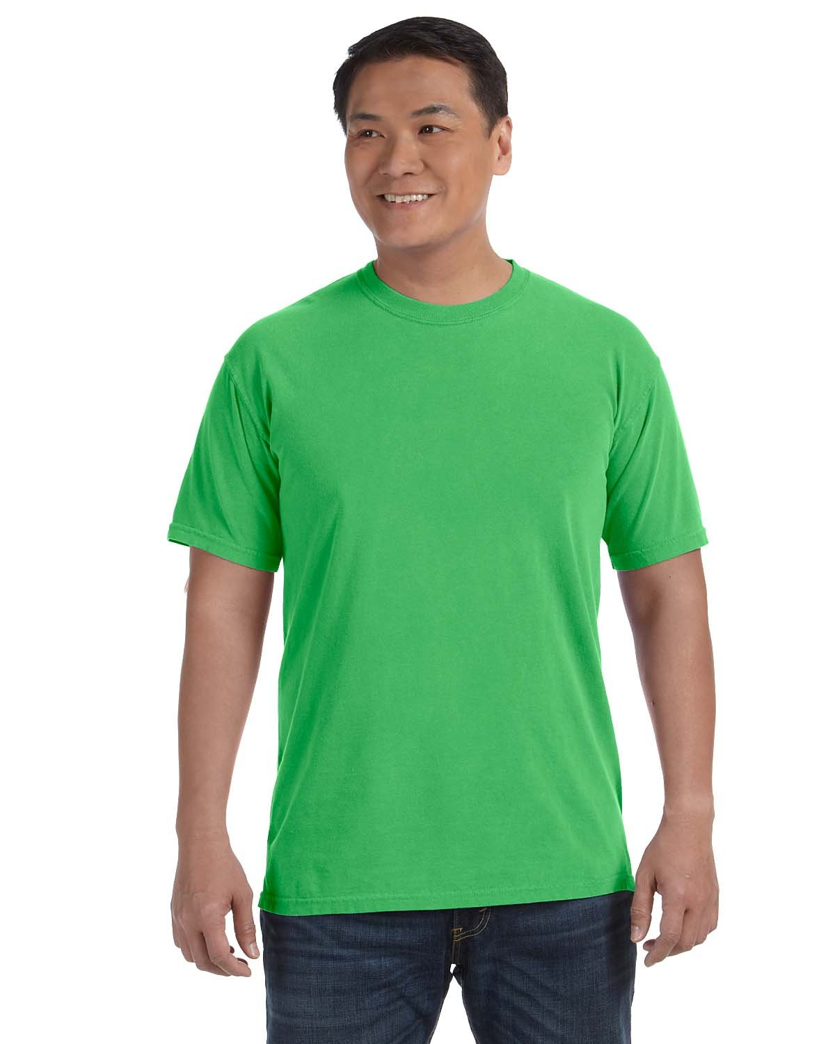 Comfort Colors Adult Heavyweight RS T-Shirt NEON GREEN