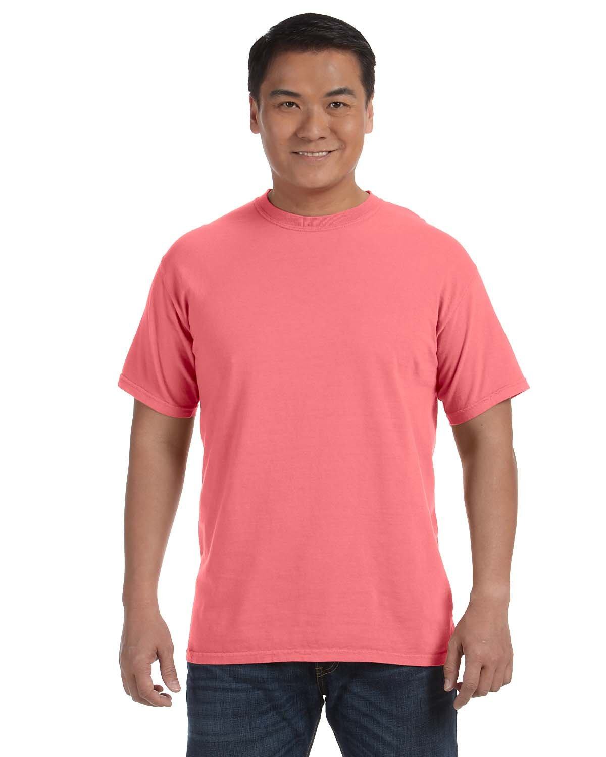 Comfort Colors Adult Heavyweight RS T-Shirt NEON RED ORANGE