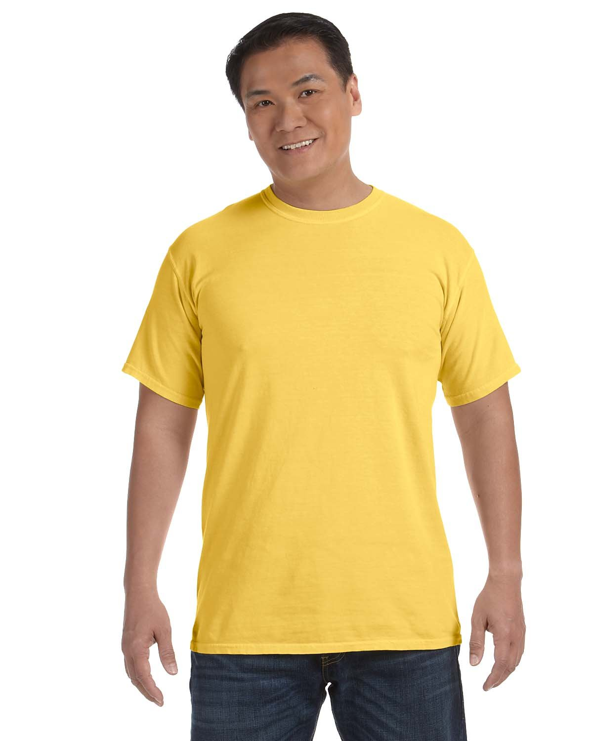 Comfort Colors Adult Heavyweight RS T-Shirt NEON YELLOW