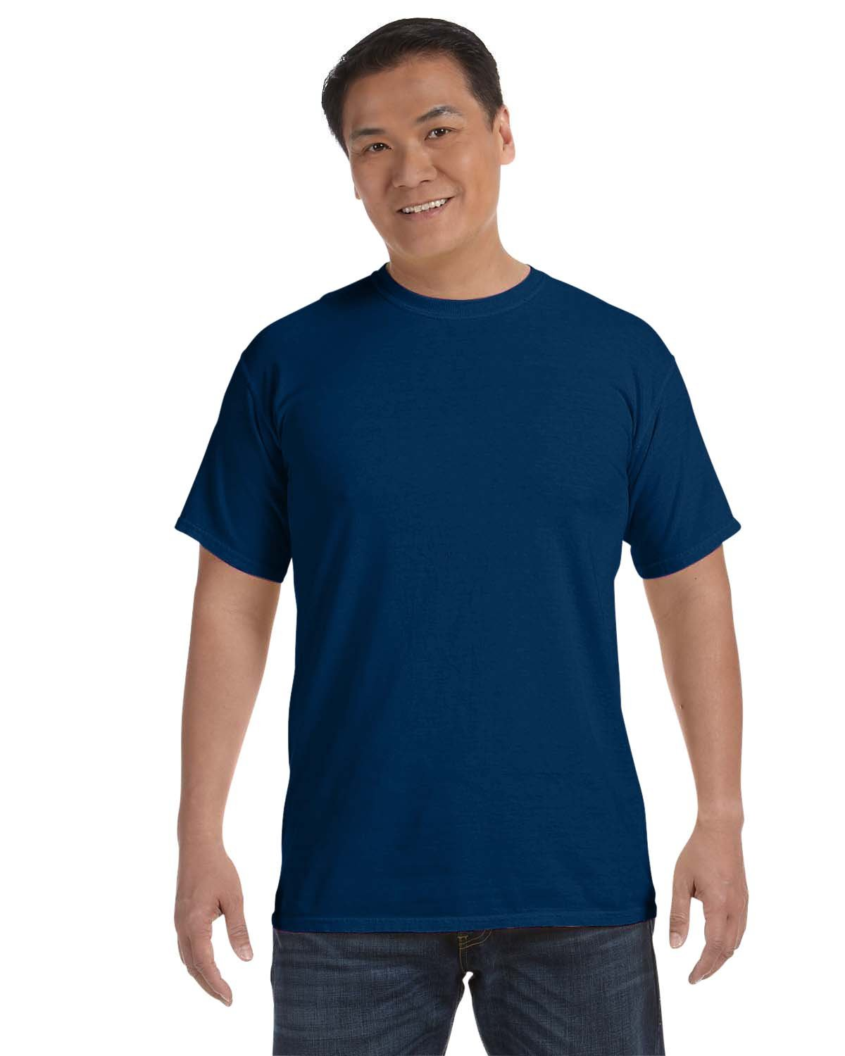 Comfort Colors Adult Heavyweight RS T-Shirt PIGMENT NAVY