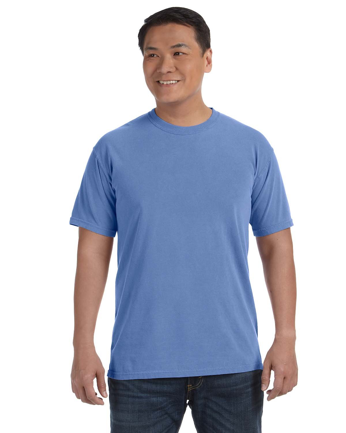 Comfort Colors Adult Heavyweight RS T-Shirt FLO BLUE