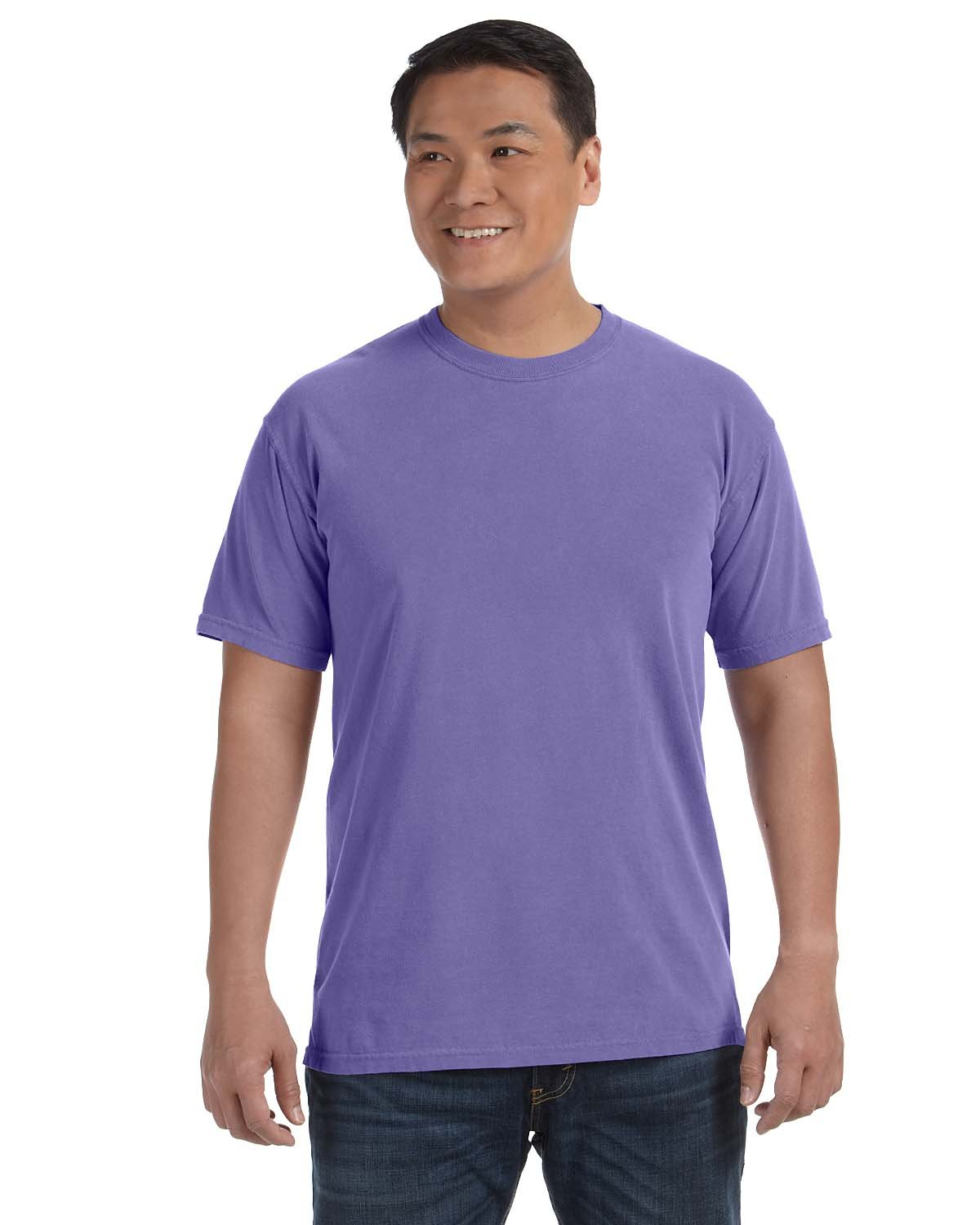 Comfort Colors Adult Heavyweight RS T-Shirt VIOLET