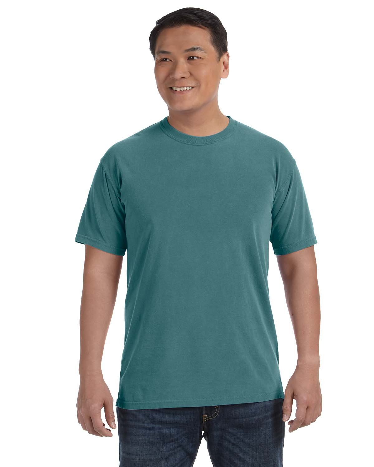 Comfort Colors Adult Heavyweight RS T-Shirt BLUE SPRUCE