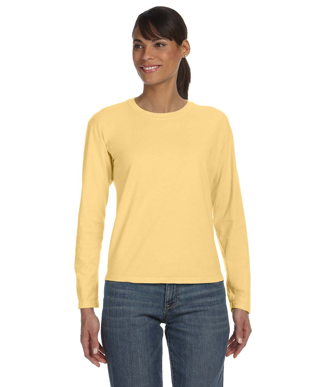 Comfort Colors Ladies' Midweight RS Long-Sleeve T-Shirt BUTTER