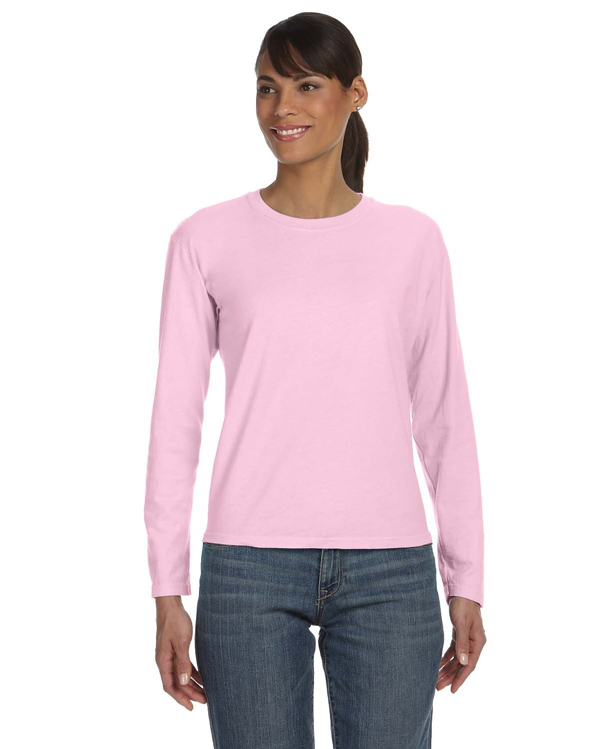 Comfort Colors Ladies' Midweight RS Long-Sleeve T-Shirt BLOSSOM