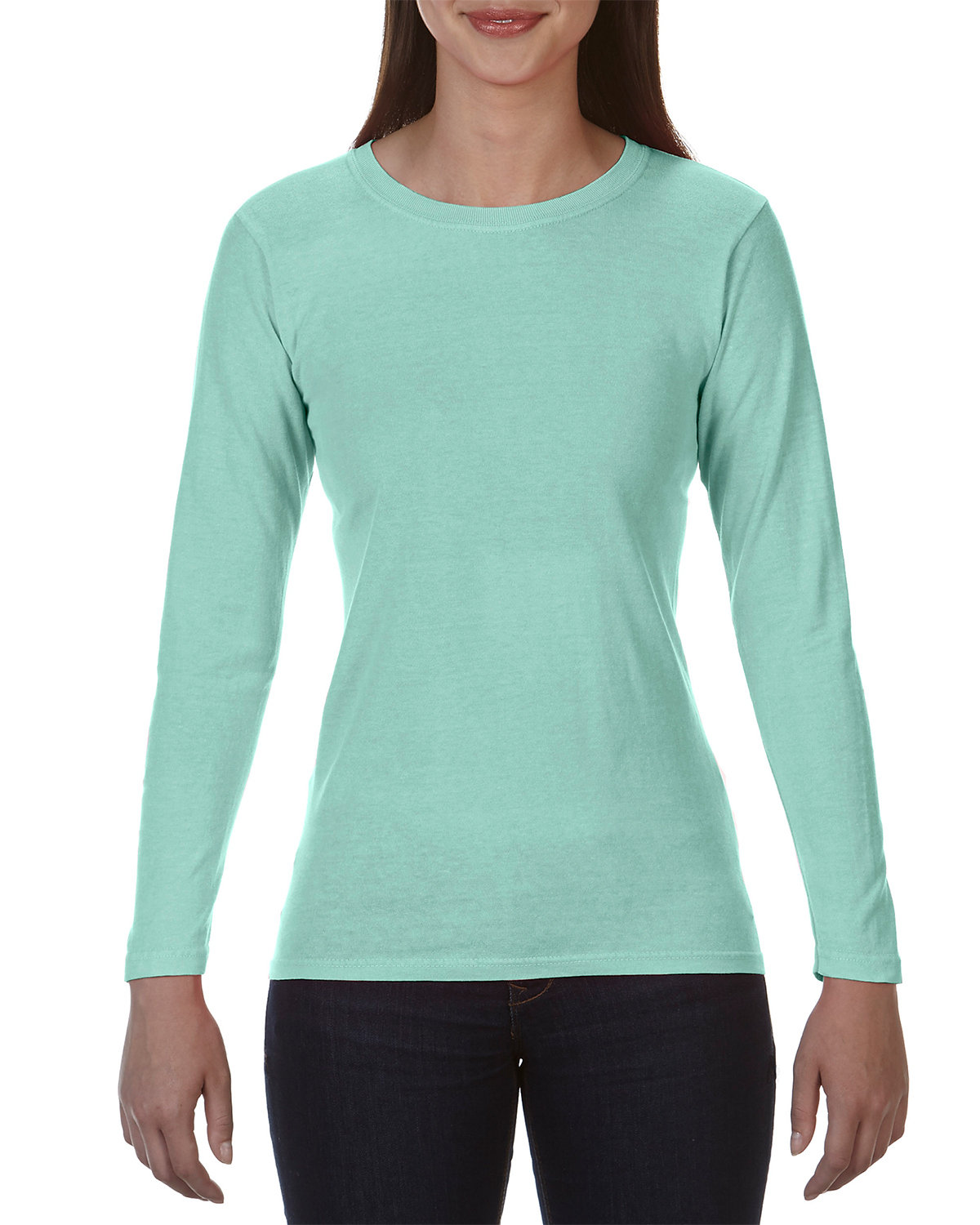 Comfort Colors Ladies' Midweight RS Long-Sleeve T-Shirt ISLAND REEF