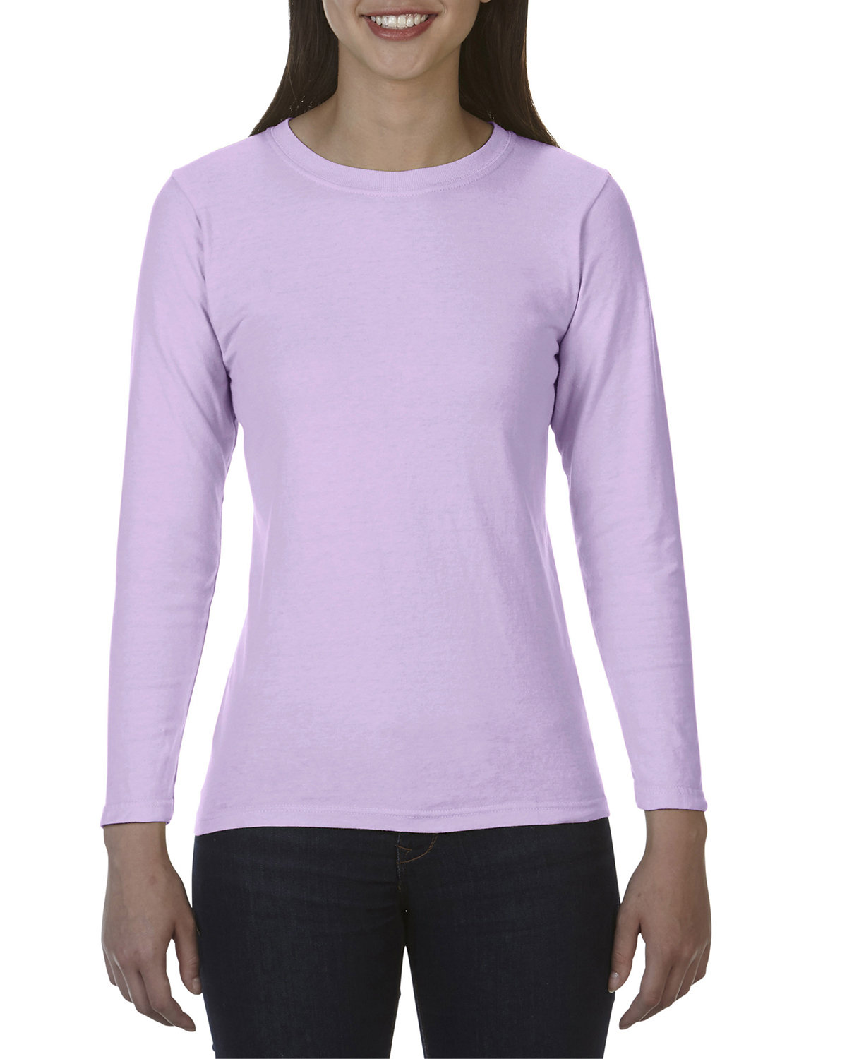 Comfort Colors Ladies' Midweight RS Long-Sleeve T-Shirt ORCHID