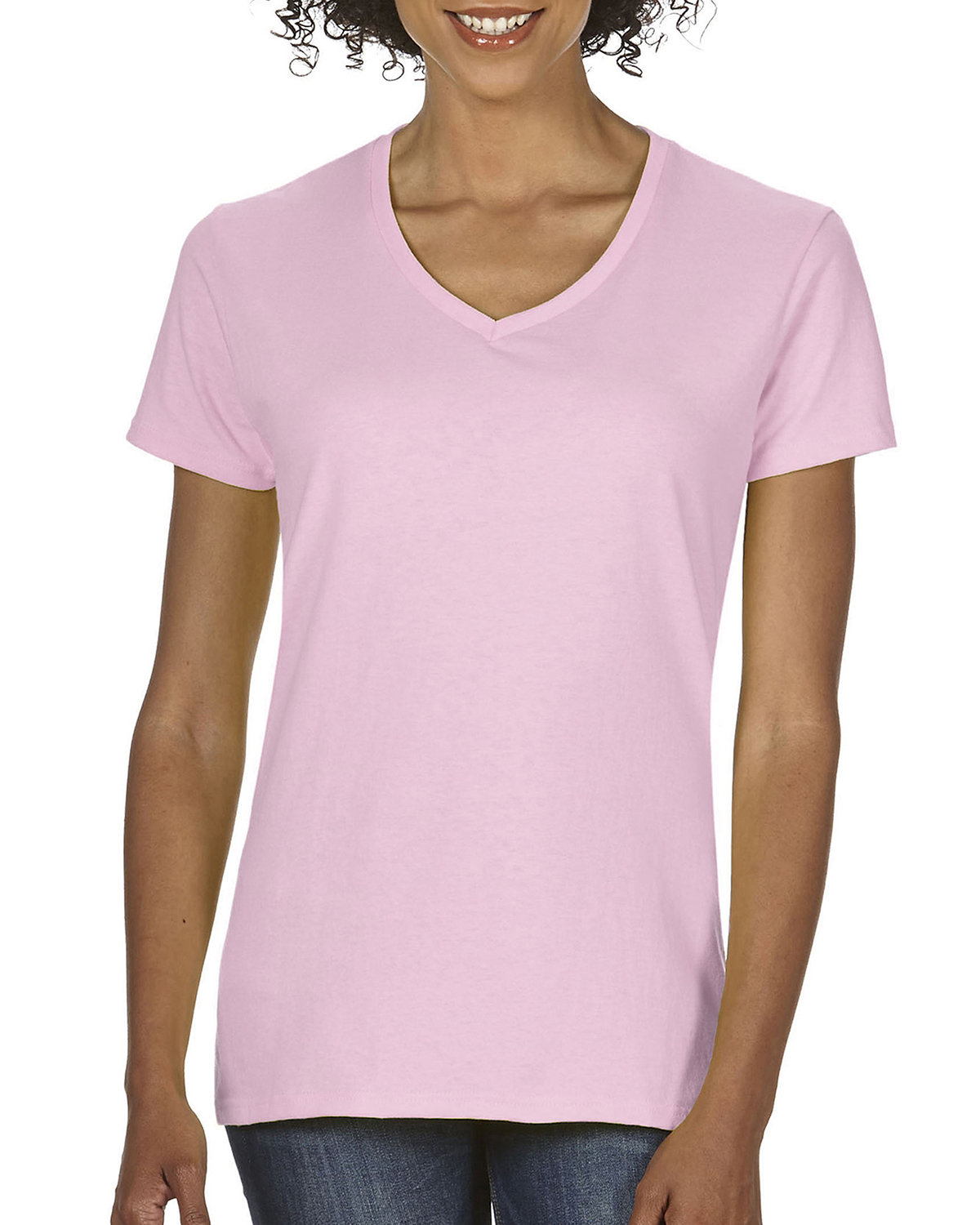 Comfort Colors Ladies' Midweight V-Neck T-Shirt BLOSSOM