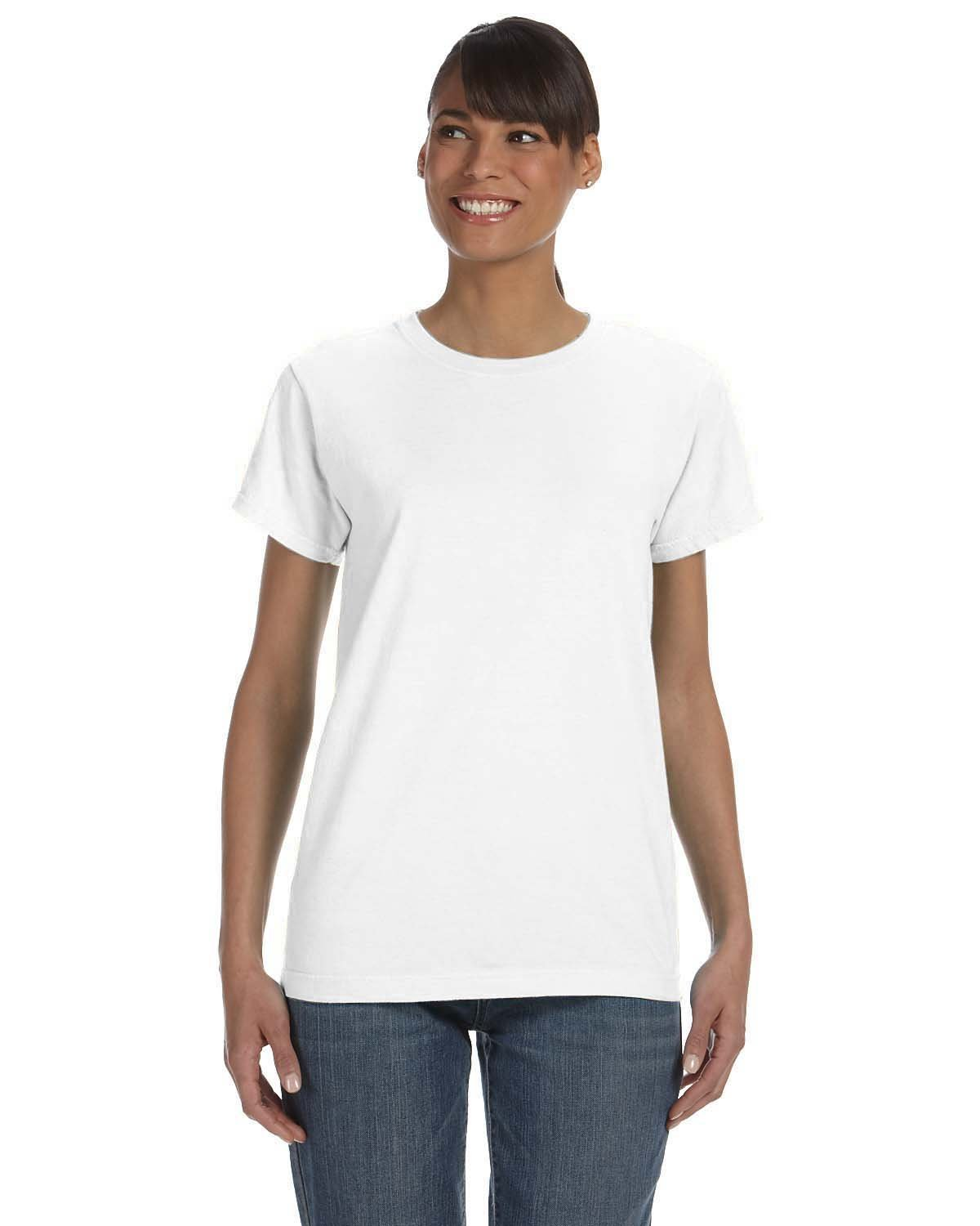 Comfort Colors Ladies' Midweight RS T-Shirt WHITE