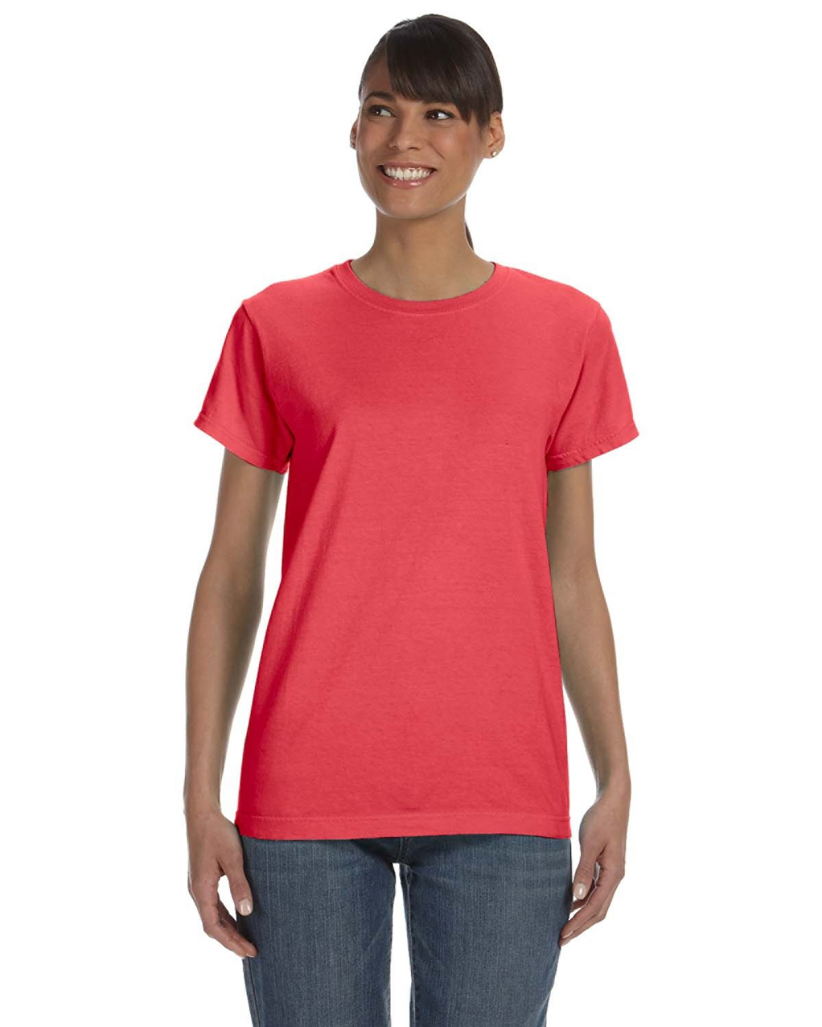Comfort Colors Ladies' Midweight RS T-Shirt PAPRIKA