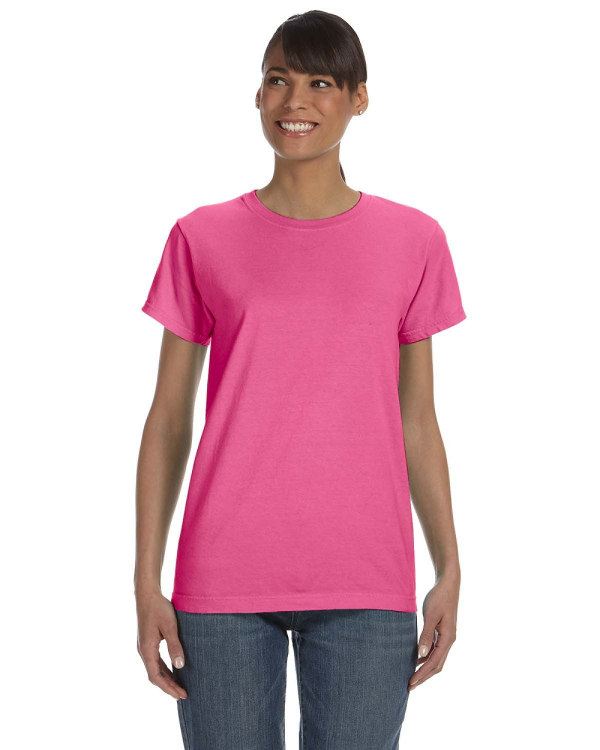 Comfort Colors Ladies' Midweight RS T-Shirt CRUNCHBERRY