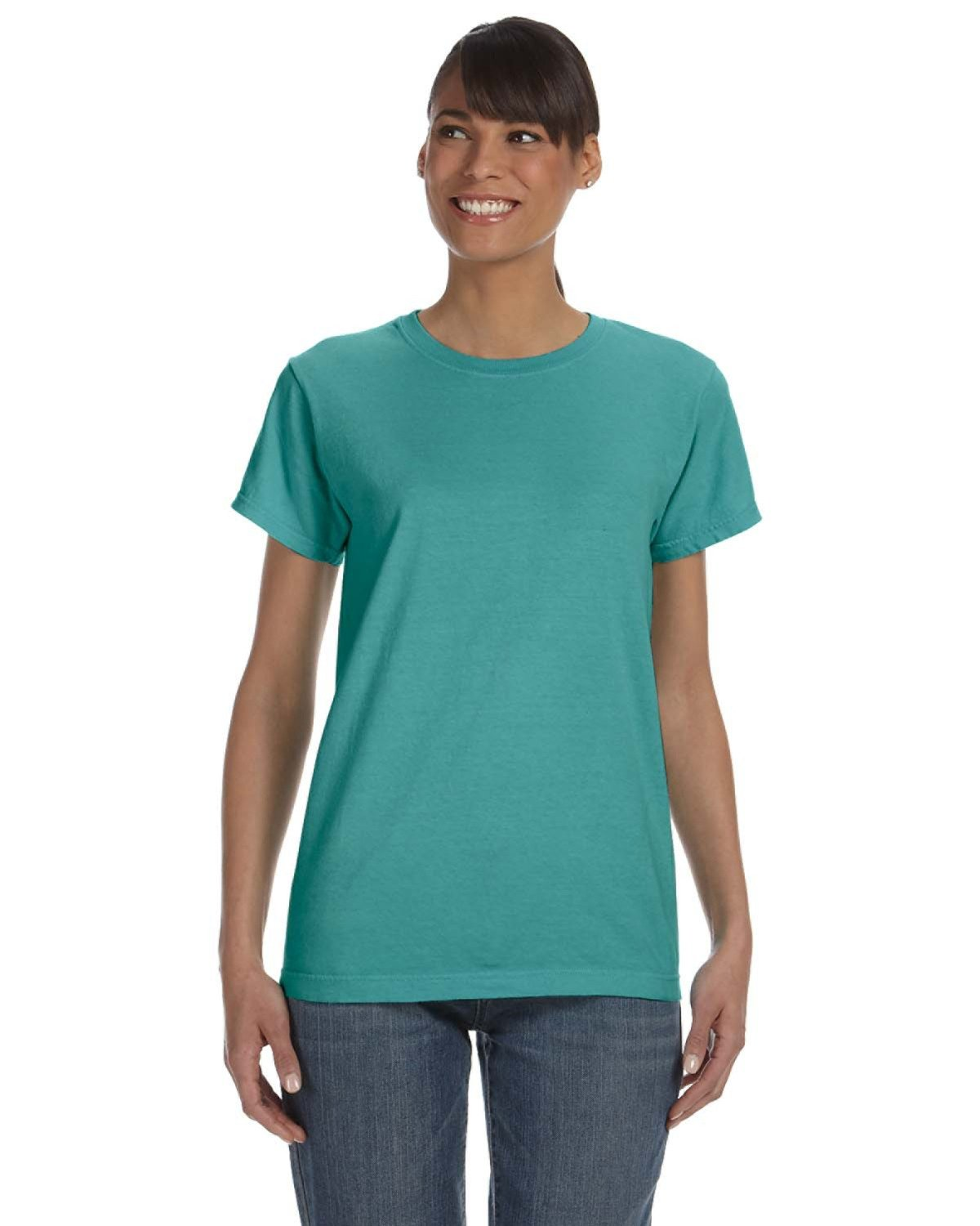 Comfort Colors Ladies' Midweight RS T-Shirt SEAFOAM
