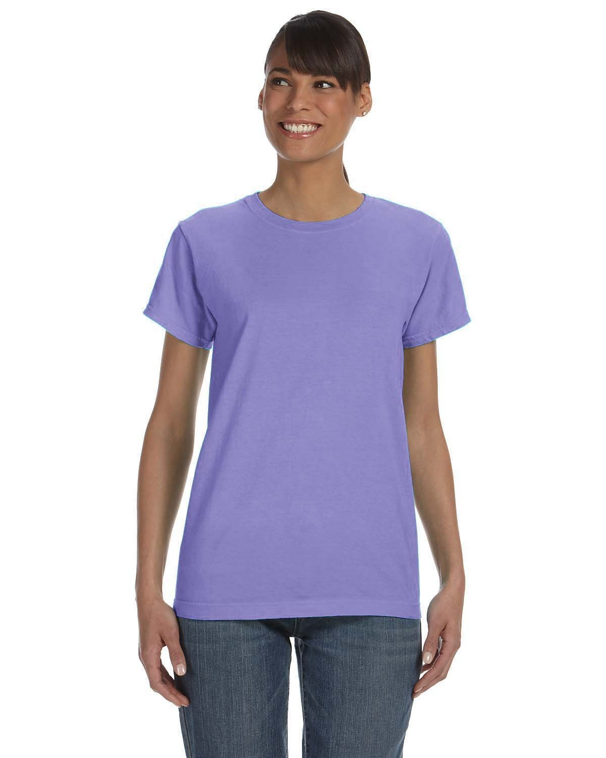 Comfort Colors Ladies' Midweight RS T-Shirt VIOLET