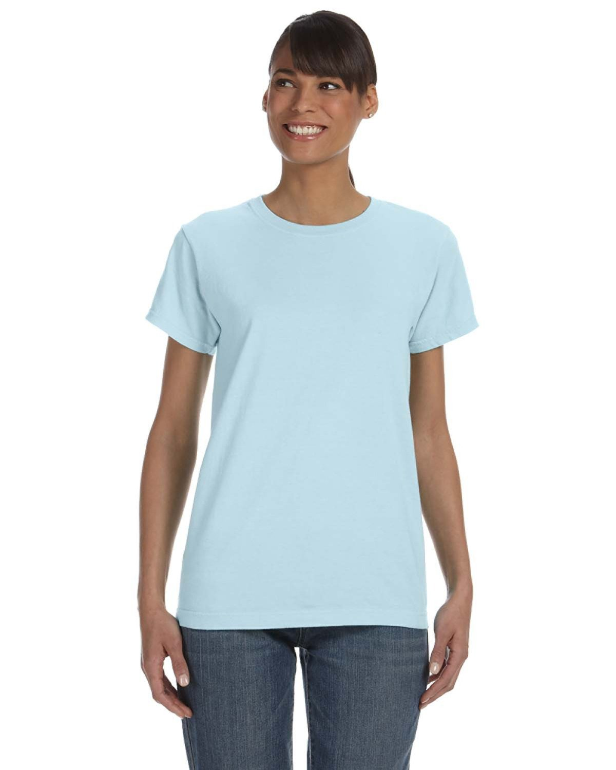 Comfort Colors Ladies' Midweight RS T-Shirt CHAMBRAY