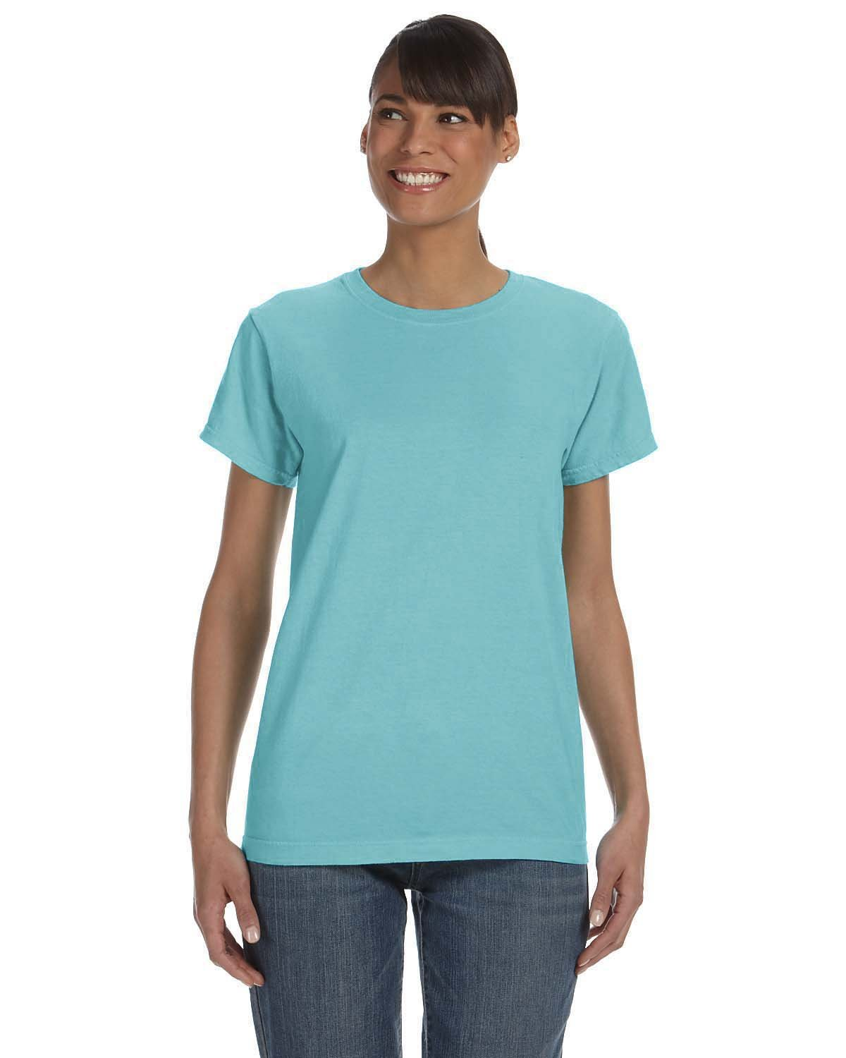 Comfort Colors Ladies' Midweight RS T-Shirt CHALKY MINT