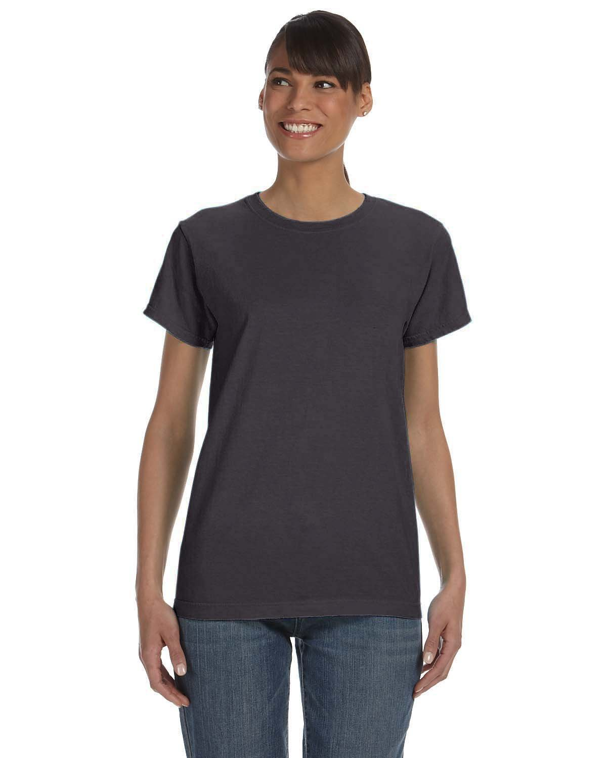 Comfort Colors Ladies' Midweight RS T-Shirt GRAPHITE