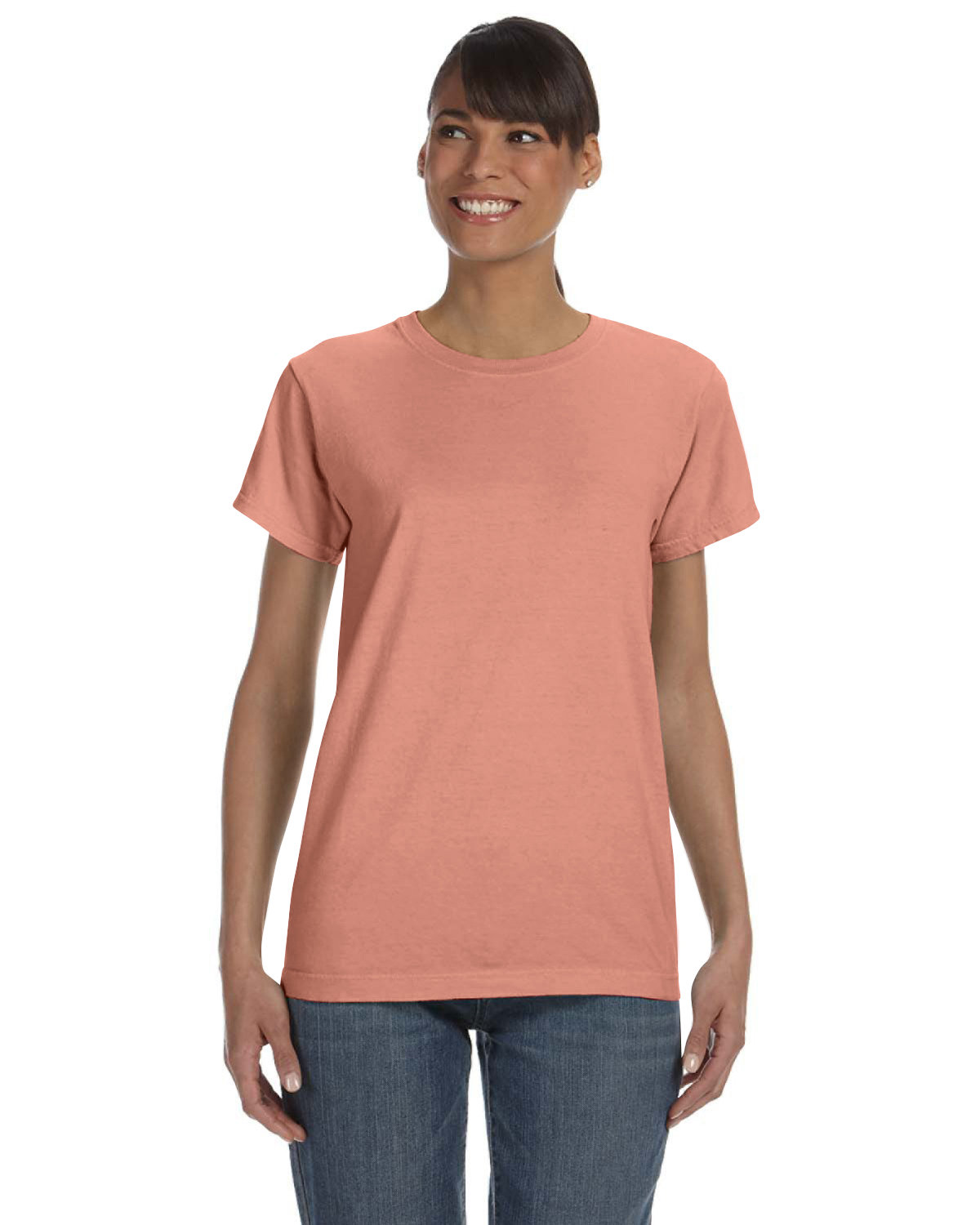 Comfort Colors Ladies' Midweight RS T-Shirt TERRACOTA