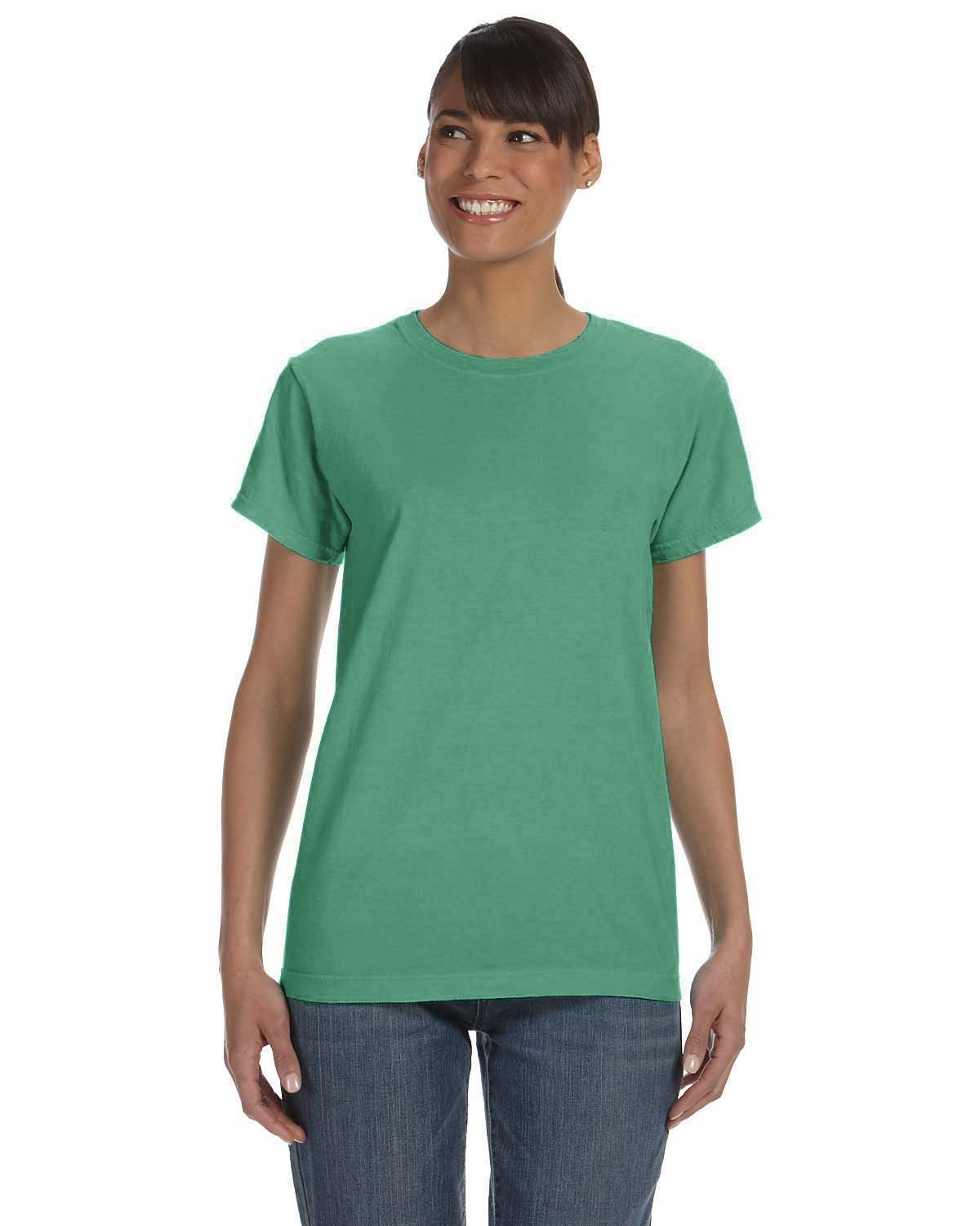 Comfort Colors Ladies' Midweight RS T-Shirt ISLAND GREEN