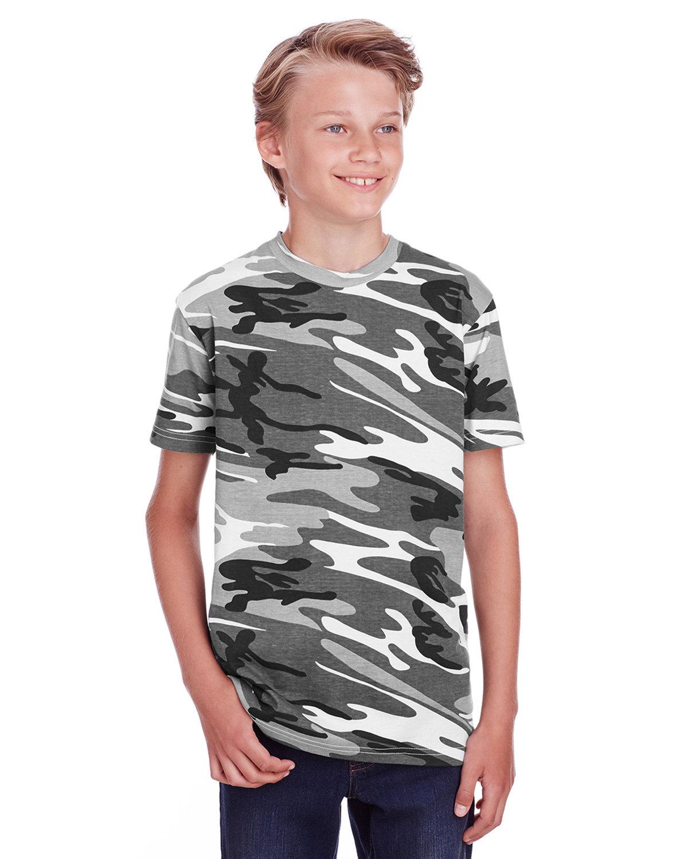 Code Five Youth Camo T-Shirt URBAN WOODLAND
