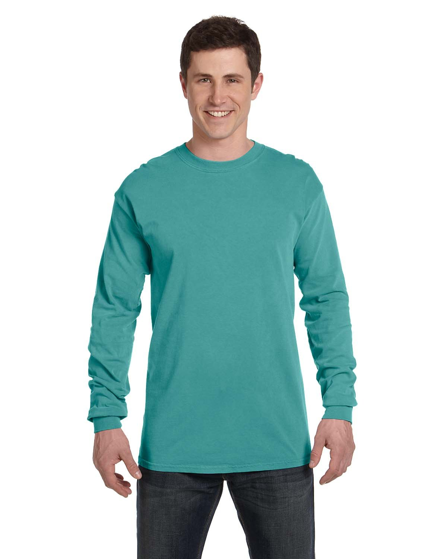 Comfort Colors Adult Heavyweight Long-Sleeve T-Shirt SEAFOAM
