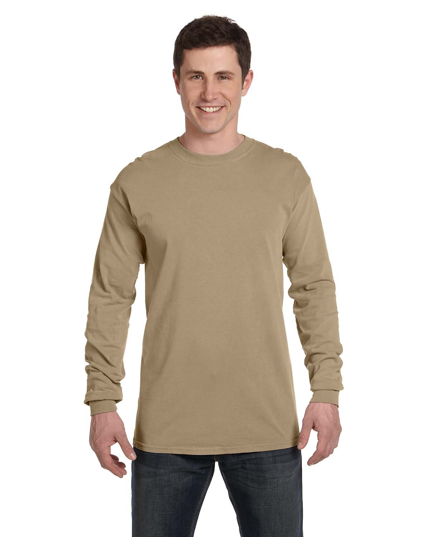 Comfort Colors Adult Heavyweight Long-Sleeve T-Shirt KHAKI