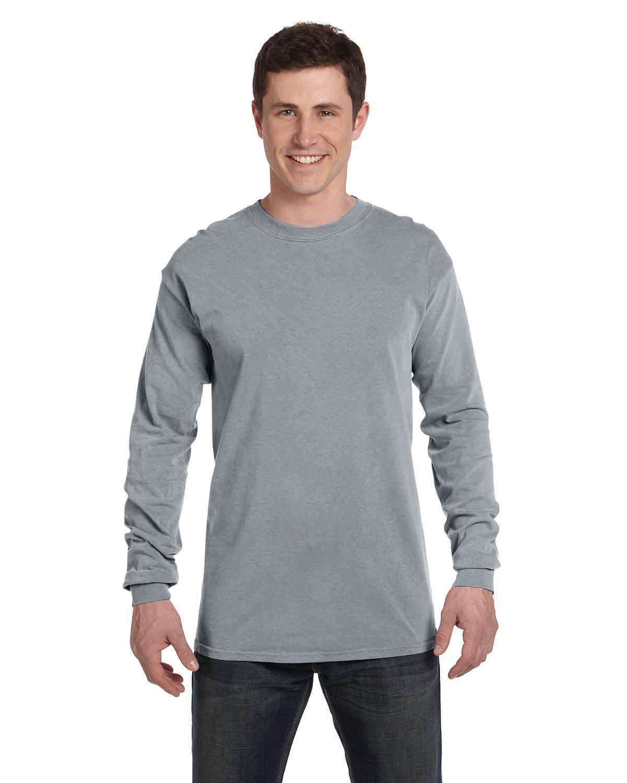 Comfort Colors Adult Heavyweight Long-Sleeve T-Shirt GRANITE