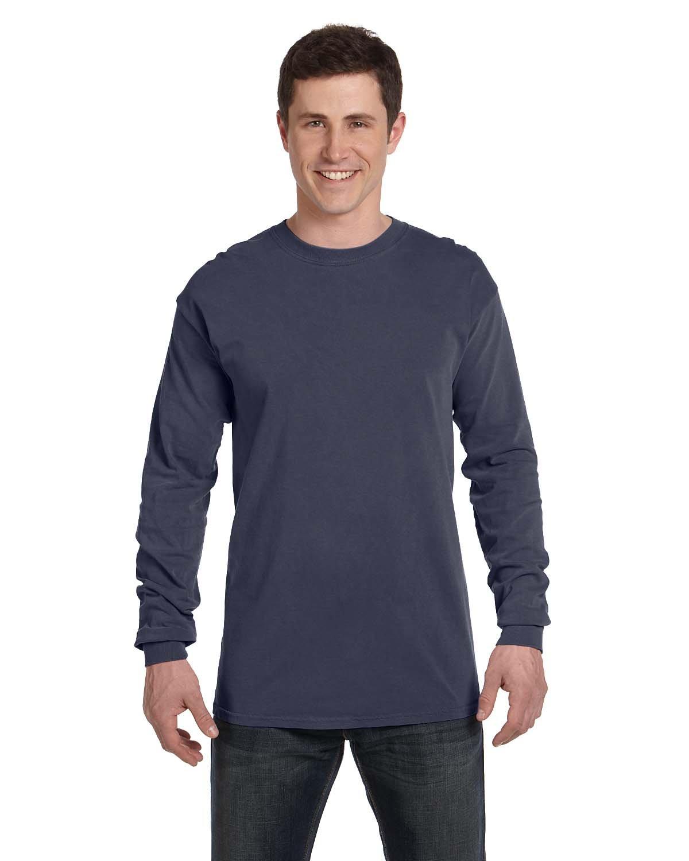 Comfort Colors Adult Heavyweight Long-Sleeve T-Shirt DENIM