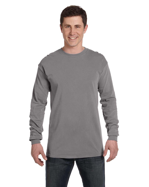 Comfort Colors Adult Heavyweight Long-Sleeve T-Shirt GREY