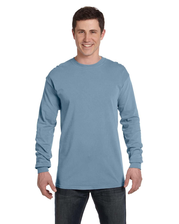 Comfort Colors Adult Heavyweight Long-Sleeve T-Shirt ICE BLUE