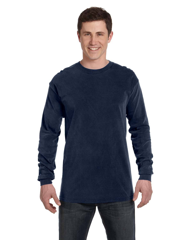 Comfort Colors Adult Heavyweight Long-Sleeve T-Shirt TRUE NAVY