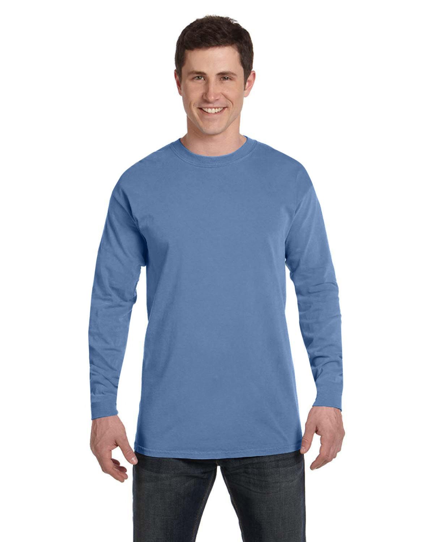 Comfort Colors Adult Heavyweight Long-Sleeve T-Shirt WASHED DENIM