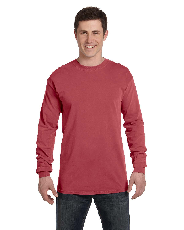 Comfort Colors Adult Heavyweight Long-Sleeve T-Shirt BRICK