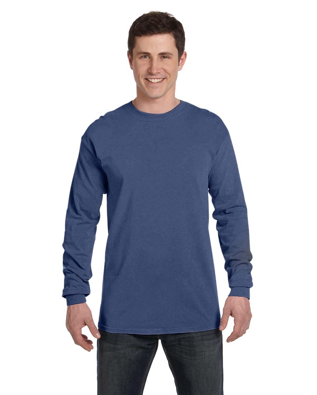 Comfort Colors Adult Heavyweight Long-Sleeve T-Shirt NAVY