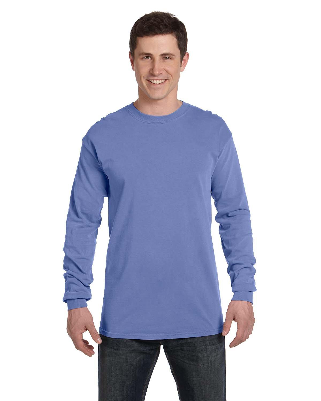 Comfort Colors Adult Heavyweight Long-Sleeve T-Shirt FLO BLUE