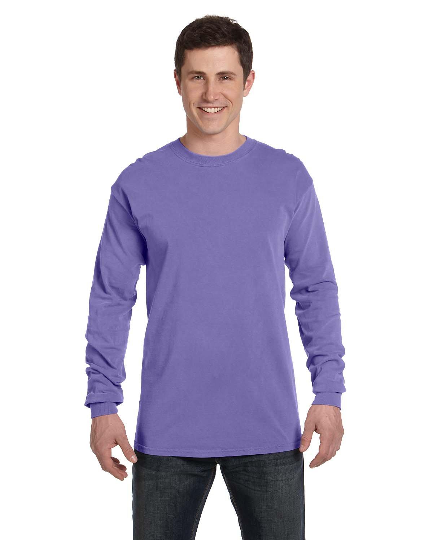Comfort Colors Adult Heavyweight Long-Sleeve T-Shirt VIOLET
