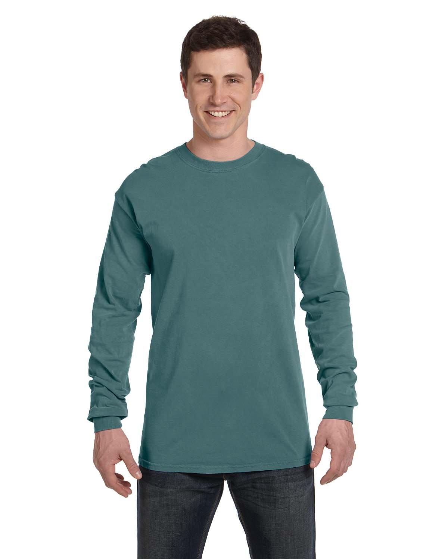 Comfort Colors Adult Heavyweight Long-Sleeve T-Shirt BLUE SPRUCE