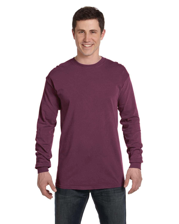 Comfort Colors Adult Heavyweight Long-Sleeve T-Shirt BURGUNDY