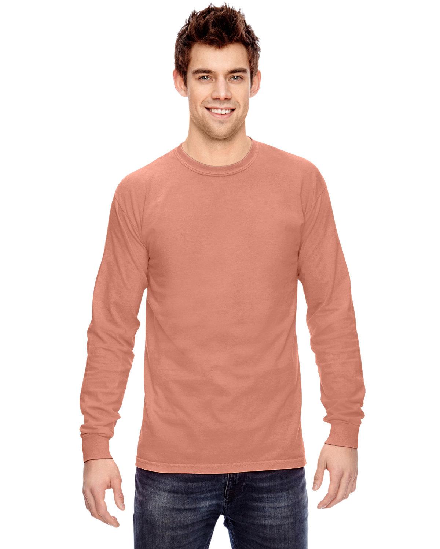 Comfort Colors Adult Heavyweight Long-Sleeve T-Shirt TERRACOTA