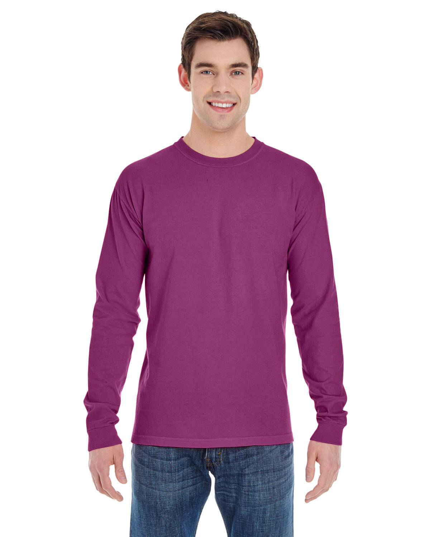 Comfort Colors Adult Heavyweight Long-Sleeve T-Shirt BOYSENBERRY