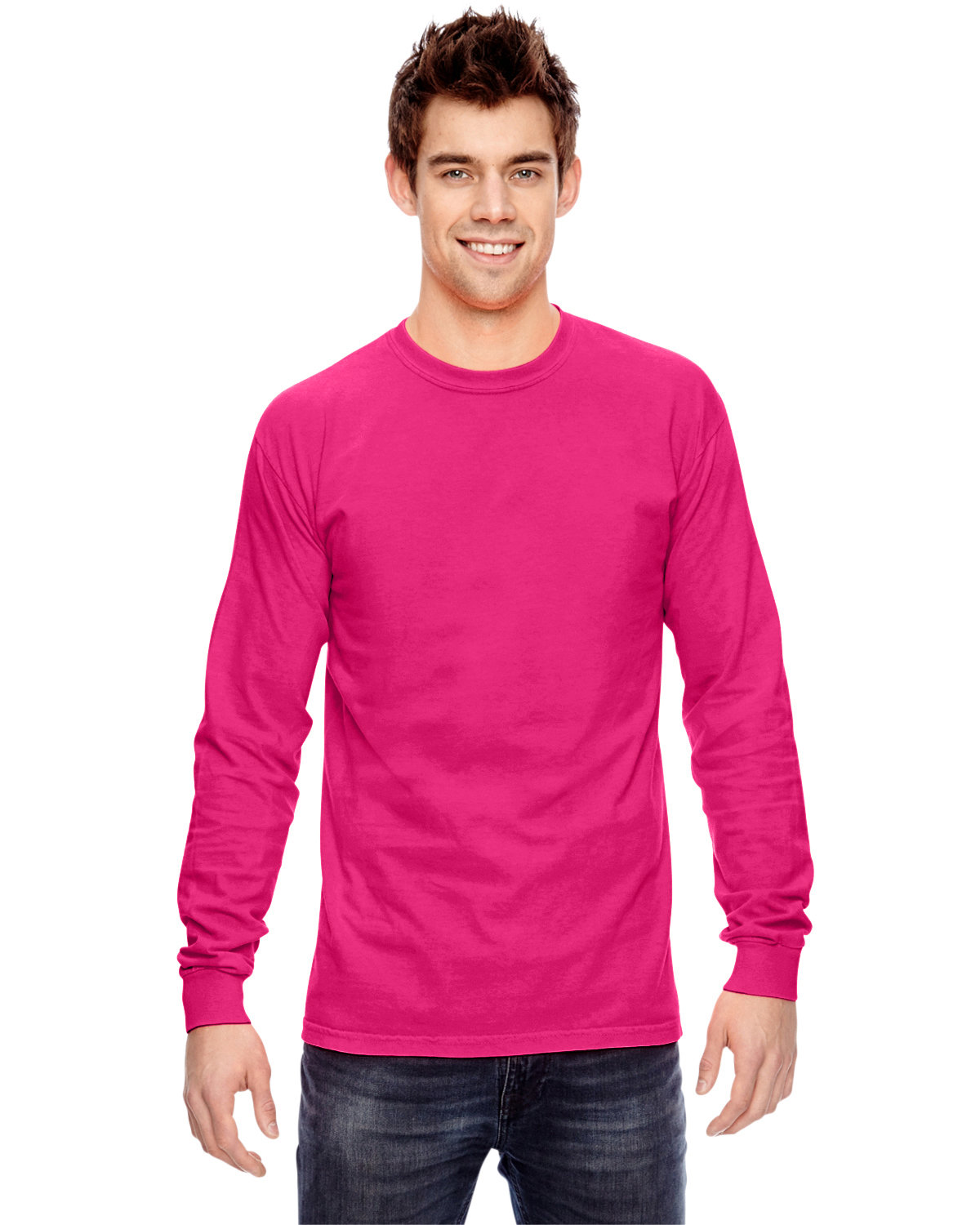 Comfort Colors Adult Heavyweight Long-Sleeve T-Shirt HELICONIA