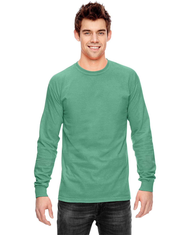 Comfort Colors Adult Heavyweight Long-Sleeve T-Shirt ISLAND GREEN