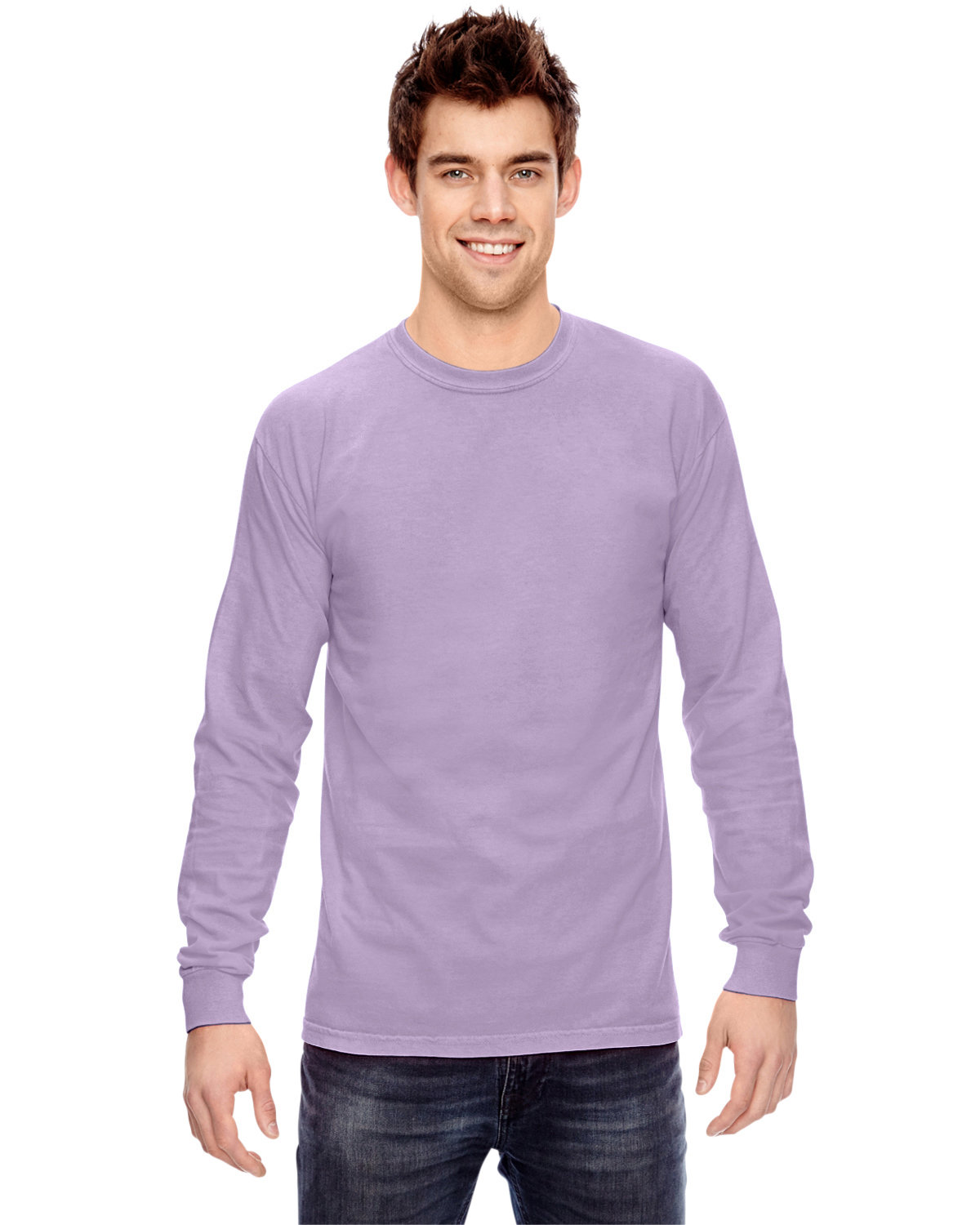 Comfort Colors Adult Heavyweight Long-Sleeve T-Shirt ORCHID