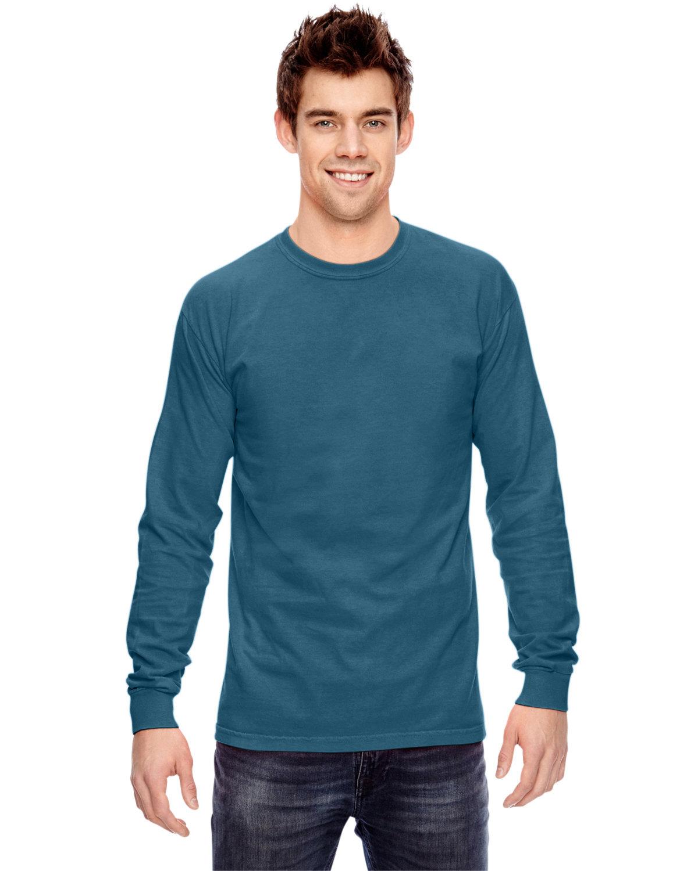 Comfort Colors Adult Heavyweight Long-Sleeve T-Shirt TOPAZ BLUE