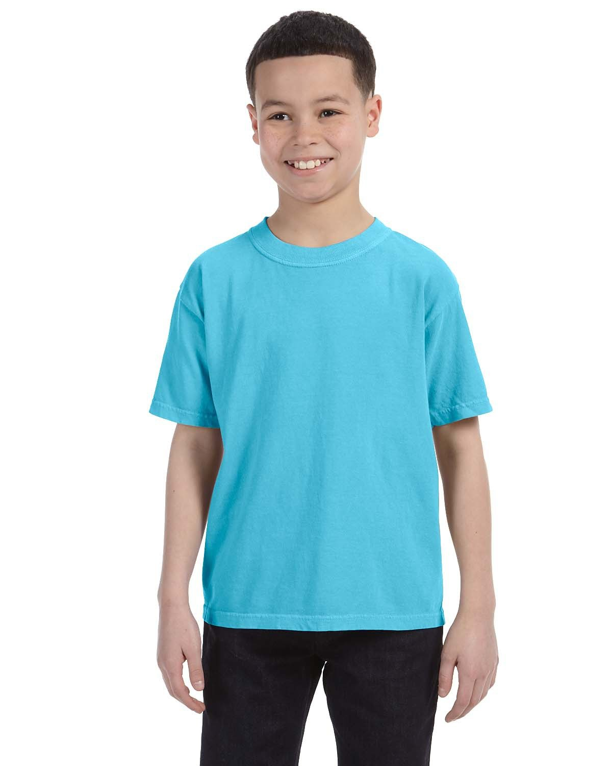 Comfort Colors Youth Midweight RS T-Shirt LAGOON BLUE