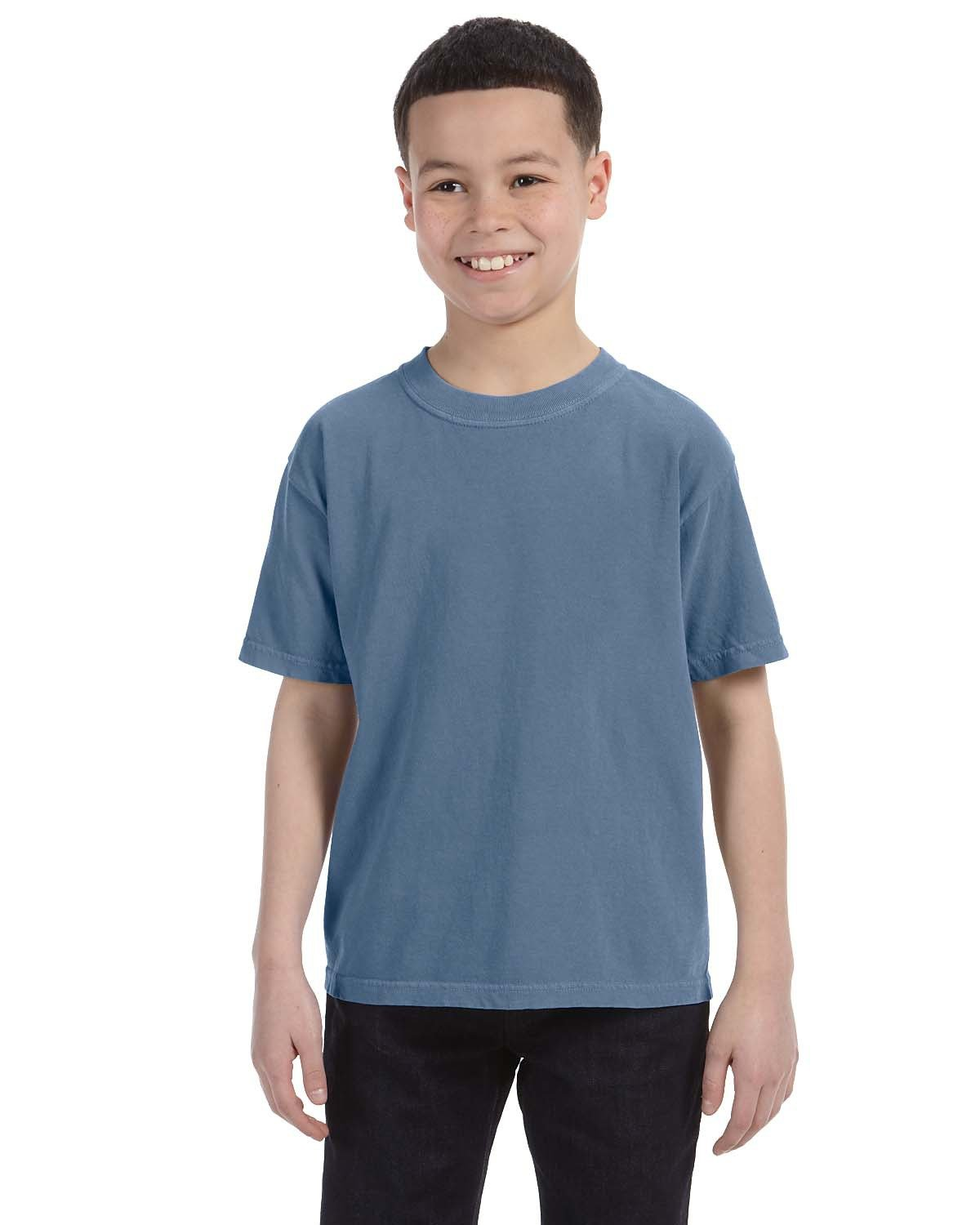 Comfort Colors Youth Midweight RS T-Shirt BLUE JEAN