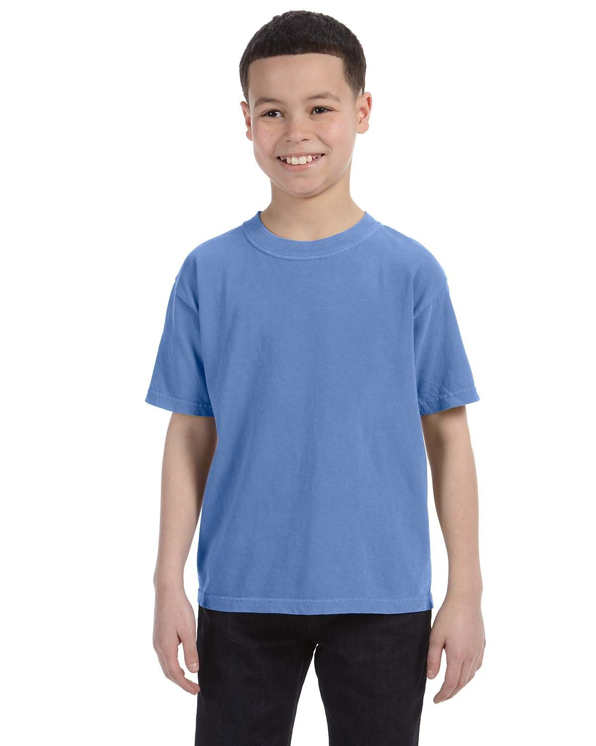 Comfort Colors Youth Midweight RS T-Shirt FLO BLUE