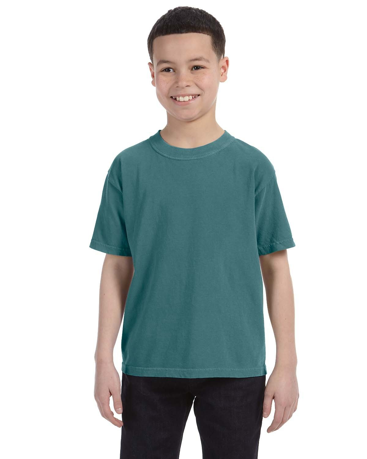 Comfort Colors Youth Midweight RS T-Shirt BLUE SPRUCE